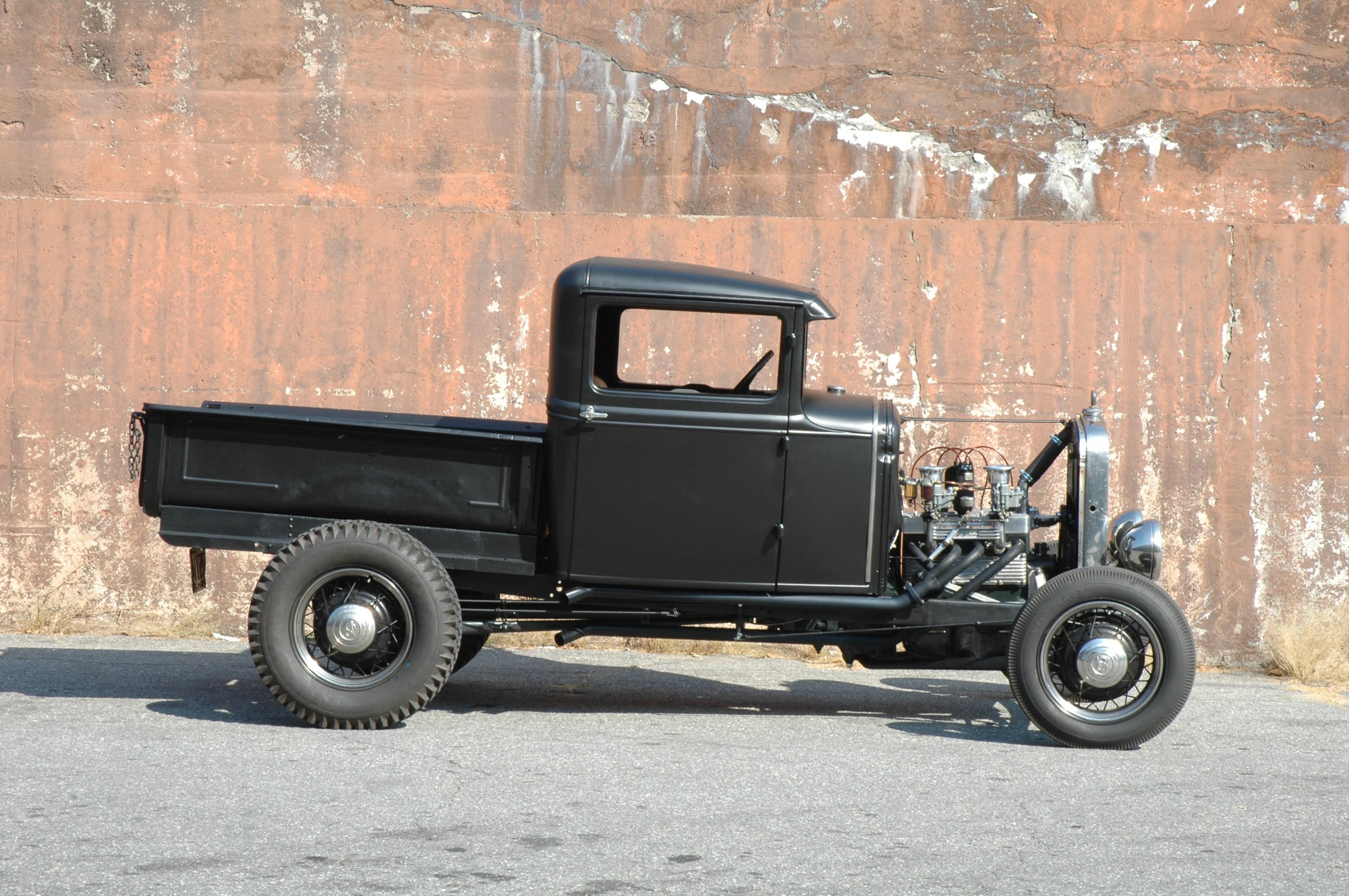 Model A 4 Banger Hot Rod Pickup